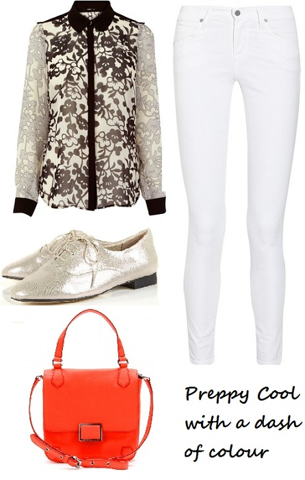 White jeans are back and here's how to style them!