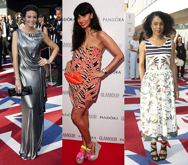 Rate or Slate Michelle Keegan, Jameela Jamil and Sophie Okonedo's dress choices?