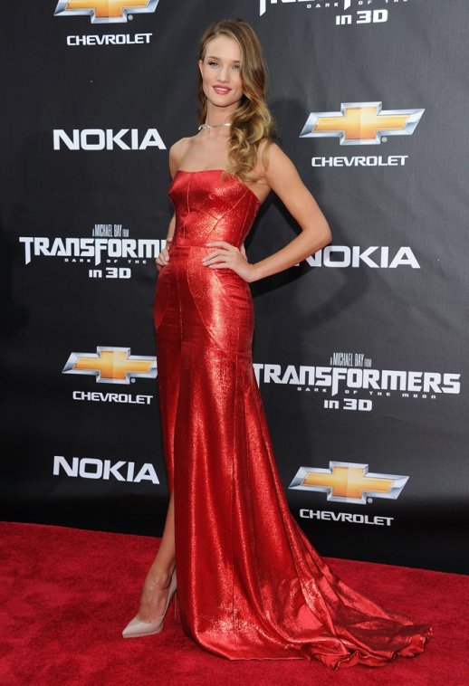Rosie Huntington Whiteley auctions off her Jessica Rabbit dress