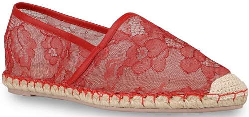 Shoe crush ALERT…Valentino Lace Espadrilles