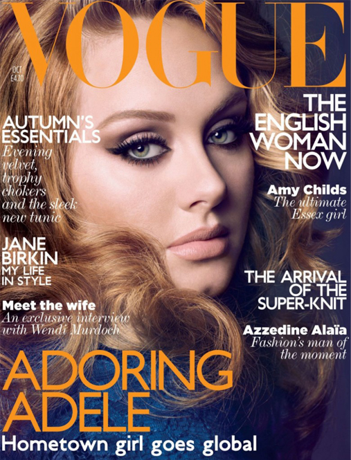 "Adele's Vogue cover ""one of the worst sellers"" of all time"