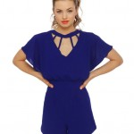 Lunchtime buy: Saturday Bright Fever blue romper