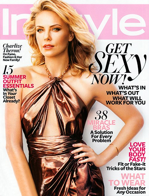 Charlize Theron snags the InStyle US June cover