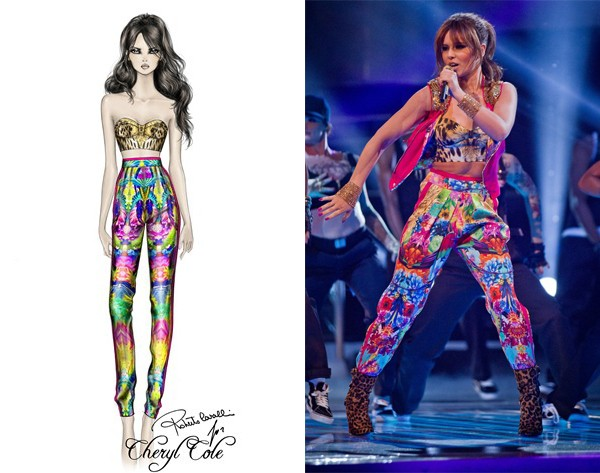 "Cheryl Cole is Roberto Cavalli's ""perfect"" woman"
