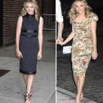 Chloe Moretz gives us wow factor glam twice in one day