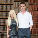 Donatella Versace talks the Queen and feminism at the Oxford Union