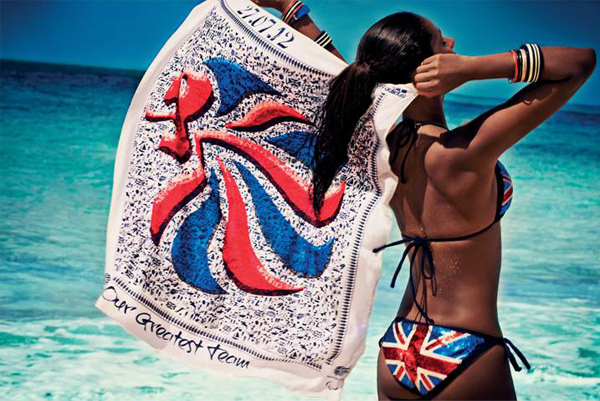 Channel Kate Middleton and get your Olympic scarf now!