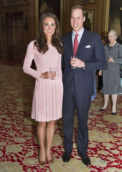 Another red carpet triumph for Kate Middleton in pale pink Emilia Wickstead