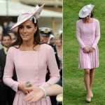 Kate Middleton recycles her Emilia Wickstead dress for Queen's garden party