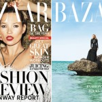 Kate Moss is American Harper's Bazaar's latest cover girl