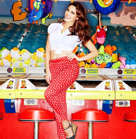 Peek Kelly Brook's debut clothing line for New Look!