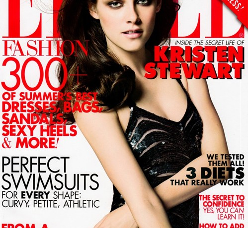 Kristen Stewart is back to her dark, sultry self for the Elle US June issue