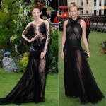 Kristen Stewart and Charlize Theron get gothic for the Snow White and the Huntsman London premiere
