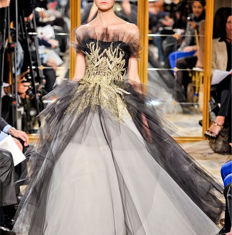 Marchesa's contemporary line is definitely happening!