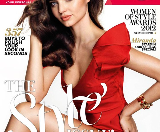Miranda Kerr stuns in Carl Kapp for InStyle Australia's Style issue