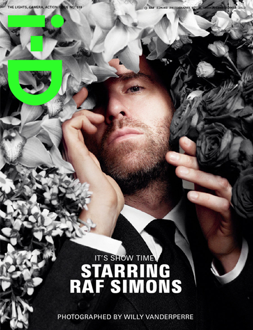 Raf Simons covers i-D's summer issue, talks Jil Sander and Christian Dior (natch)