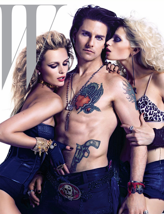 Tom Cruise unleashes his inner rock star for W June