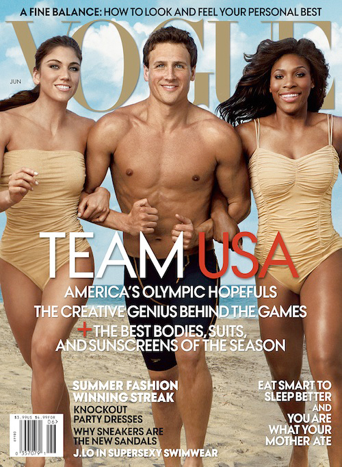 Team USA covers American Vogue June 2012
