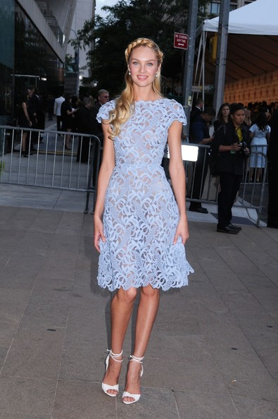 Candice Swanepoel stuns as Best Dressed of the Week in Valentino at the CFDA Awards