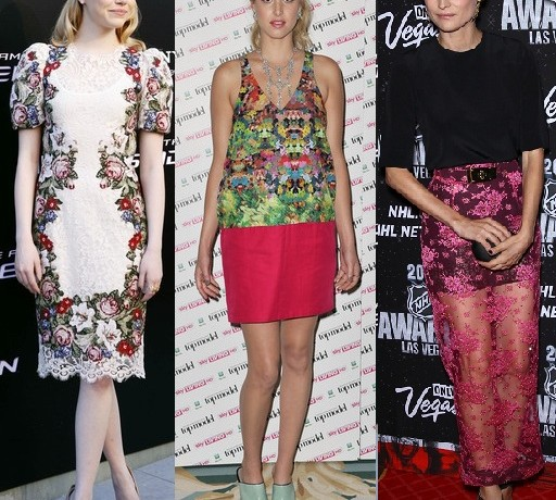 Rate or Slate Emma Stone, Whitney Port and Diane Kruger's style choices?
