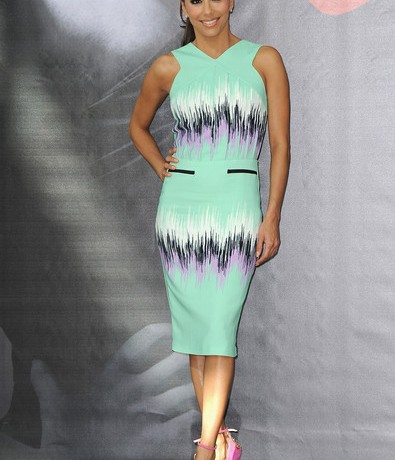 Eva Longoria's summer-perfect look in Versus lands Best Dressed of the Week