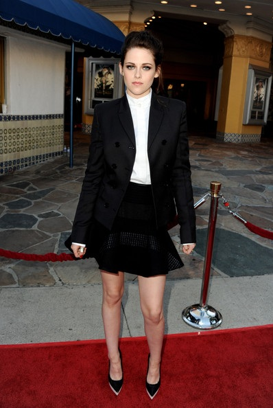 Kristen Stewart scoops Best Dressed of the Week at LA screening of Snow White and the Hunstman