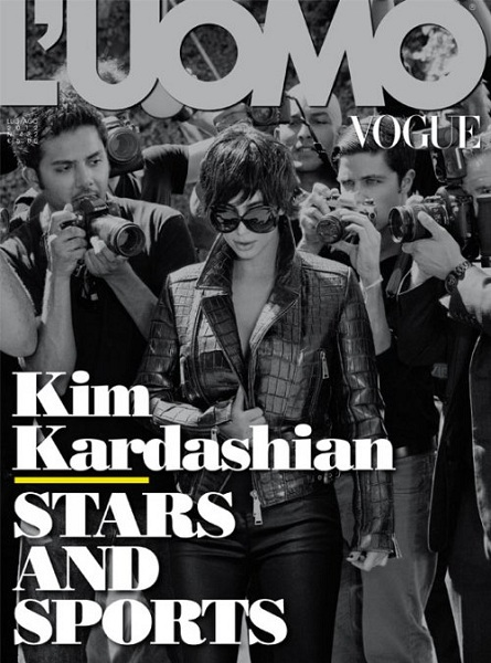 "Kim Kardashian finally gets her ""Vogue"" cover!"