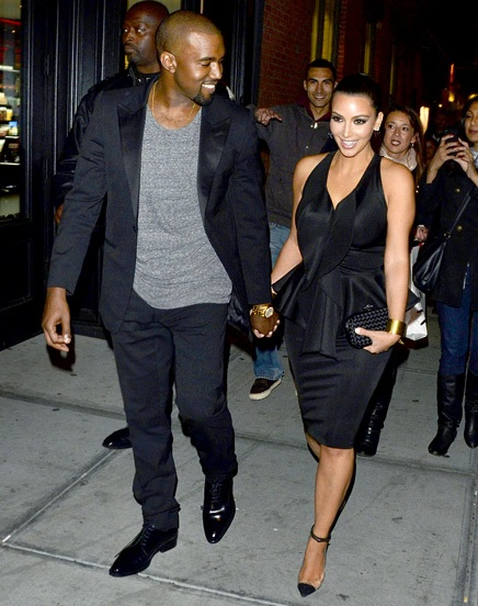 Has Kanye turned Kim into a demure goddess?