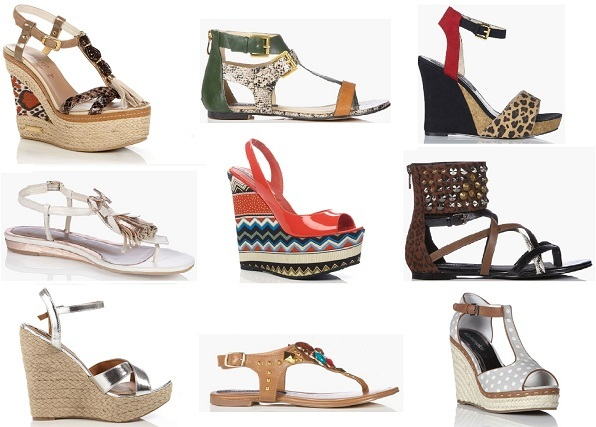 Hot-to-trot flat sandals and wedges to shop right now!