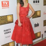 Zooey Deschanel scoops Best Dressed of the Week in Oscar de la Renta