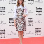 Alexa Chung gives her Christopher Kane dress some edge