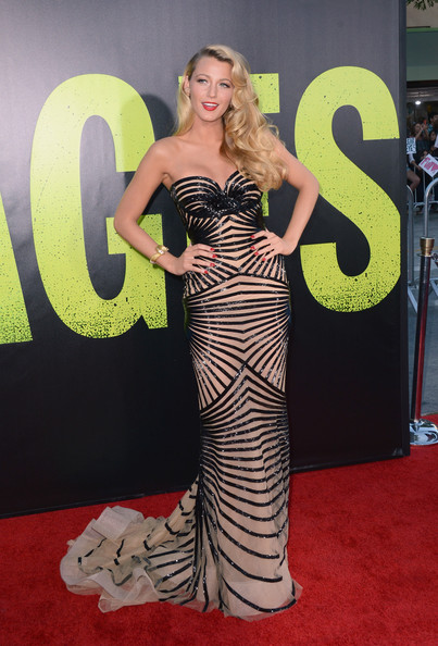 Blake Lively stuns in Zuhair Murad Couture at the Savages premiere