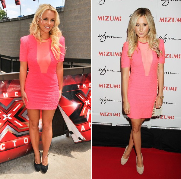 Who wore Brian Lichtenberg better – Britney Spears or Ashley Tisdale?