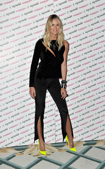 Elle Macpherson disappoints in Louis Heal