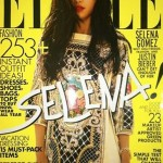 Selena Gomez bursts onto the Elle US July cover in Balmain