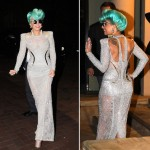Lady Gaga channels Betty Grable in Atelier Versace