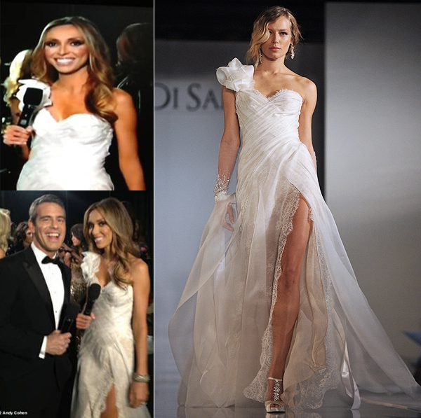 Lusting after Giuliana Rancic's Ines Di Santo dress