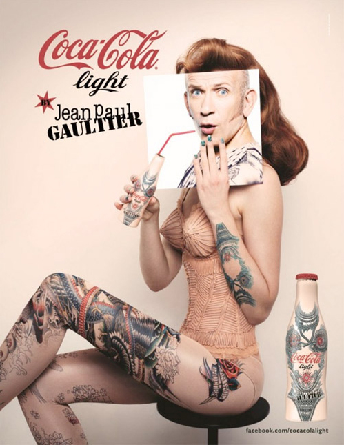 Jean Paul Gaultier's third Diet Coke design released