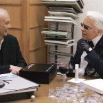 Karl Lagerfeld is collaborating with Shu Uemura!