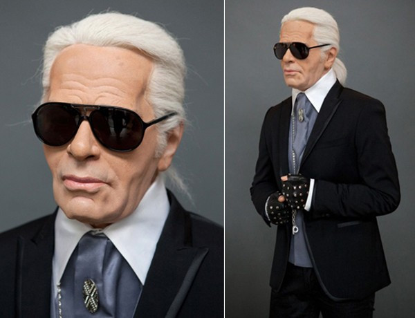 Karl Lagerfeld gets immortalised in wax