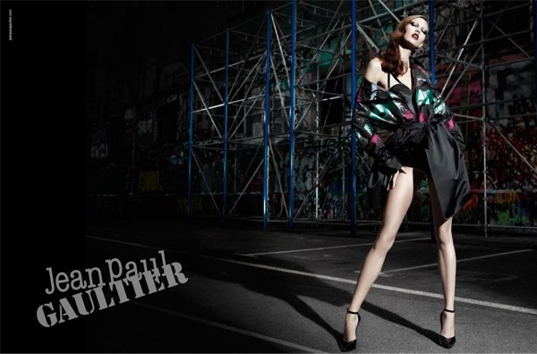 Karlie Kloss for Jean Paul Gaultier's autumn/winter 2012 campaign