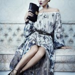 Kate Moss for the Salvatore Ferragamo autumn/winter 2012 ad campaign