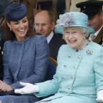 The Queen and Kate Middleton complement each other in Nottingham