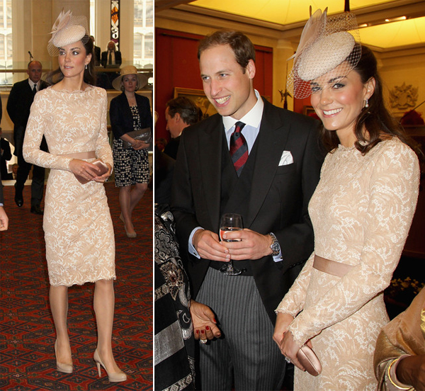 Kate Middleton wears cream Alexander McQueen for third day of Jubilee celebrations