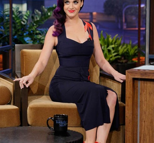 Katy Perry goes chic and classy in Roland Mouret