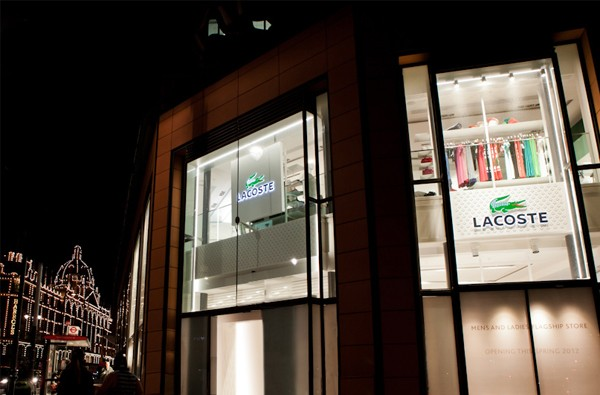 Largest Lacoste flagship in the world opens in London!