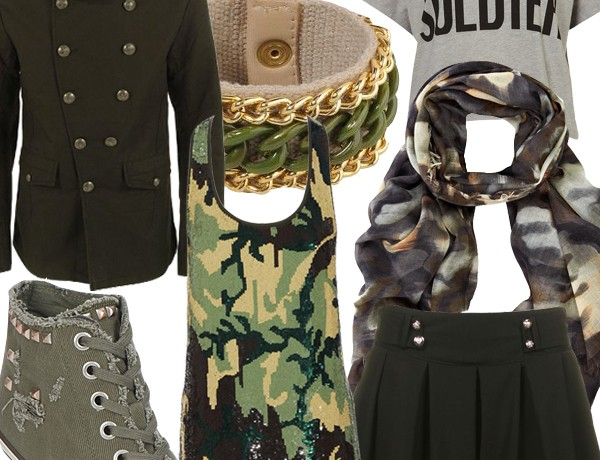 Midweek Moodboard: Military inspiration