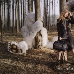 Lindsey Wixson stars in Mulberry's autumn/winter 2012 campaign