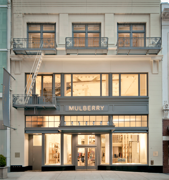 Mulberry opens lavish flagship store in San Francisco