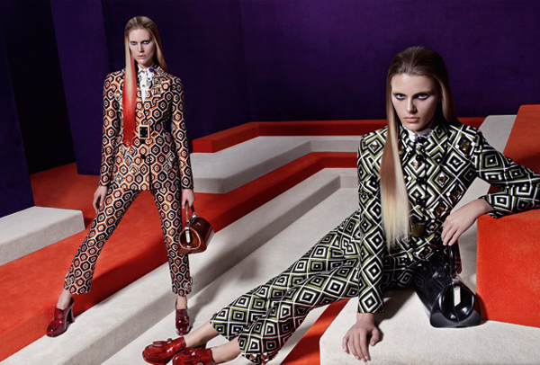 "Prada's autumn/winter 2012 ""video game"" ad campaign is here"